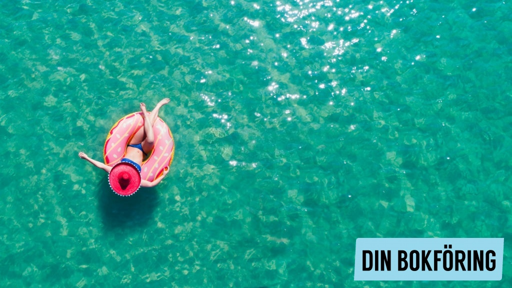 Vad är semesterersättning?  | Din Bokföring